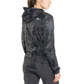 The North Face W's Stormy Trail Jacket TNF Black Reflective Firefly Print